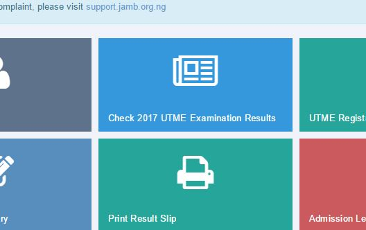 jamb utme result 2017 out